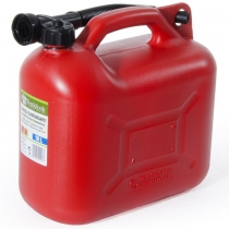10L RED PLASTIC TANK