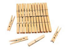 20PCS WOODEN PEGS *K144