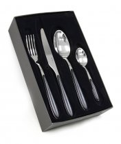 24pcs CUTLERY SET MASTER NERO R91521N24