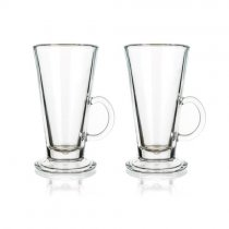 2PCS GLASS MUGS COLMBIAN 260ml 05805102