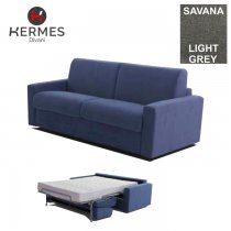 3 SEATER SOFA BED SAVANA LIGHT GREY (IRON)
