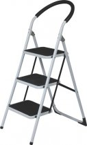 3 WIDE STEP STEEL LADDER *K4