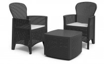 3PCS TREE SINGLE SOFA & TABLE SET ANTH