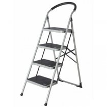 4 WIDE STEP STEEL LADDER *K4