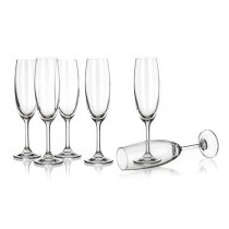 6PCS FLUTE GLASS 210ml 02B4G006210 K4