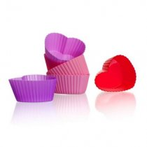 6PCS SILICONE HEART MOLD 3122120MIX