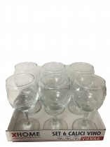 out of stock 6PCS WINE GLASSES VIENNA 21CL K8