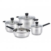 7PCS SS COOKWARE SET AMBIENTE 48727061