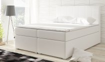 ALICE STORAGE PU DOUBLE BED 160x200cm WHITE