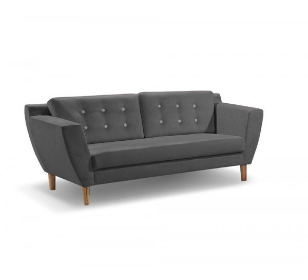 Angelo Sofa 3 Seater Grey