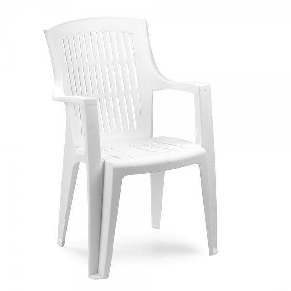 ARPA WHITE ARMCHAIR