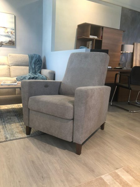 BILLY RECLINER ARMCHAIR - Taupe