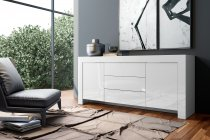 MAX BUFFET CABINET WHITE 2DRS+3DRW 202M12BL