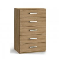 ECO CHEST OF DRAWER 5 TIER 96C01P NOCE PURO