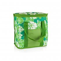 COOLER BAG LARGE 20L FLOWERS 50ML1084AGF K100 green