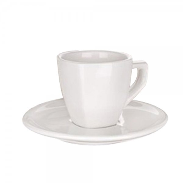CUP WITH SAUCER ALBA SQ 250ML 60S59967 K6