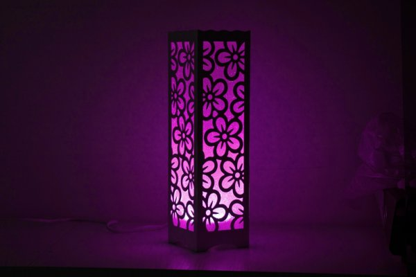 DECORATIVE BOX FASHION LAMP A/B/C