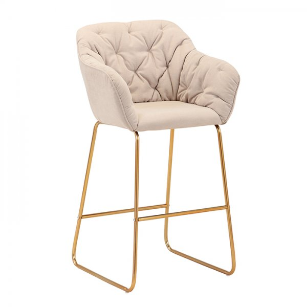 DIANA BAR STOOL - BEIGE / TAUPE