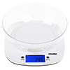 WHITE DIGITAL KITCHEN SCALE MESKO