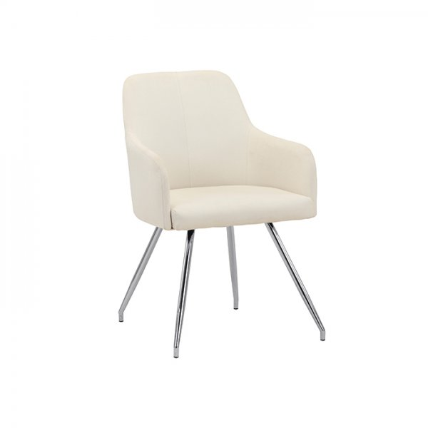 CHARLOTTE DINING CHAIR - OFF WHITE