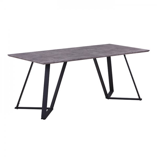 KATE DINING TABLE - CONCRETE