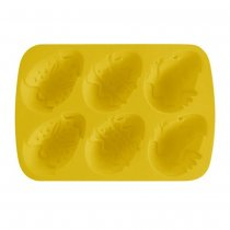 EASTER EGG SHAPE SILICONE MOULD x6 CULINARIA 31201820
