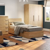 ENJOY SINGLE BED - 80 x 190 cm - OAK