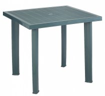 FIOCCO GREEN SQ. TABLE 80X75CM