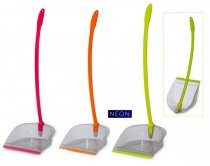 DUSTPAN FOLDING NEON COLOR CODED 39.77
