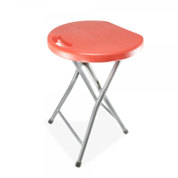 FOLDING STOOL W/CARRY HANDLE K10 blu ylw grn org red