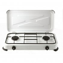 GAS TABLE COOKER 2 BURNERS