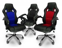 GAMING COMPUTER CHAIR K1 *RED