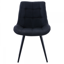 GEORGE DINING CHAIR - BLACK