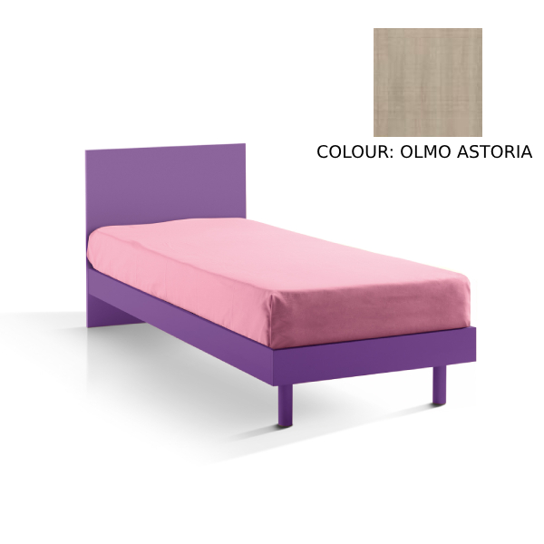 GIROTONDO SINGLE BED - 80 x 190 cm - ASTORIA ELM