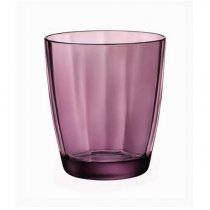 GLASS TUMBLER PULSAR 300ML PURPLE 05360630