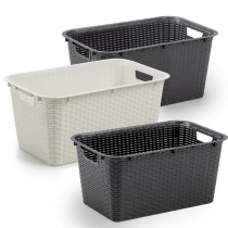 GULIETTA RATTAN WASHING BASKET
