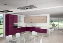 KITCHEN CORNER WITH BREAKFAST TABLE L360xL400xH240 cm