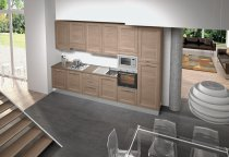 KITCHEN OLMO EMBOSED L360xH240cm
