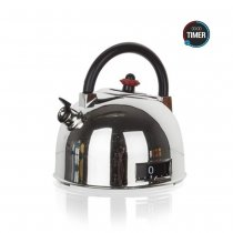 KITCHEN TIMER TEAPOT CHROME 28MT604 K100