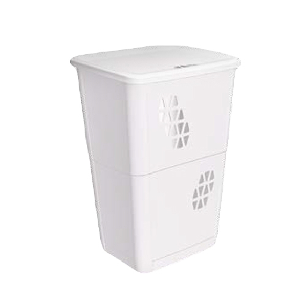 LAUNDRY BIN W/LID TRIANGOLI GREY 1651.00