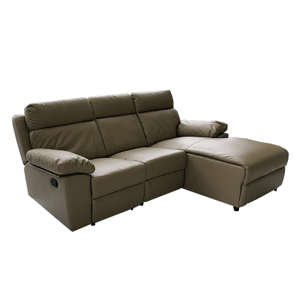 Leather Sofa Upholstery Liverpool: Ferraracasa LIVERPOOL LEFT CORNER SOFA 3 SEATER RECLINER