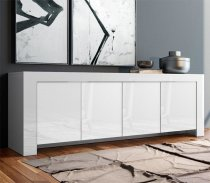 MAX BUFFET CABINET WHITE 4DOORS 202M11BL