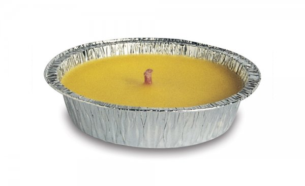 out of stock MOON FOIL CITRONELLA CANDLE Ø10 X 2.5H CM K48