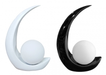 MOON LAMP K6  black white **check barcode