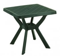 NILO GREEN SQ TABLE 80x80CM
