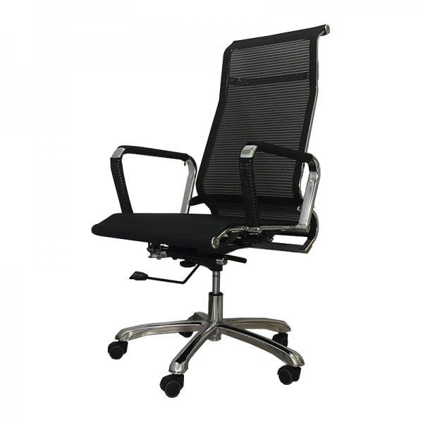 OFFICE CHAIR BLACK 59X119CM
