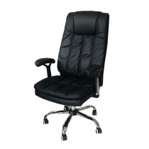 OFFICE CHAIR W/CUSHION PU 63X109CM