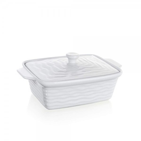 OVEN DISH RECT W/LID 28x18CM 60ZF09 K1