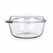 out of stock OVEN GLASS CASSEROLE W/LID 3L 3500010 K4