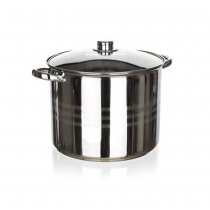 S/S POT W/GLASS LID 16.2L LIVING 48722016 K4